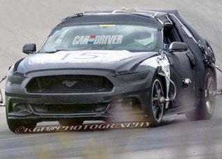 المربع نت - تابع اخر اخبار السيارات كل يوم - صور مسربة من فورد موستنج 2015 المكشوفة القادمة Ford Mustang
