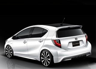 """""""بريمي اكوا"""" سيارة جديدة من طراز تويوتا من تصميم سيارة """"بريوس"""" Toyota Aqua"""
