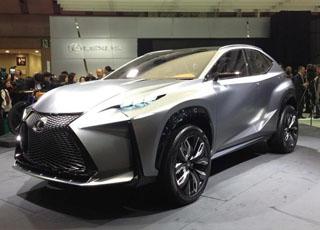 لكزس ال اف ان اكس كونسبت تظهر في معرض طوكيو للسيارات Lexus LF-NX