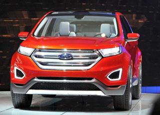 """فورد ايدج 2015 رأس الحربة الجديدة لغزو أسواق العالم """"كونسبت"""" تظهر اخيراً Ford Edge"""