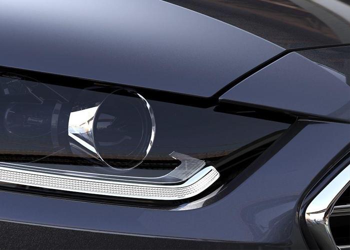 فورد تكشف عن المصابيح الأمامية لسياراتها القادمة فورد فالكون 2015 Ford Falcon