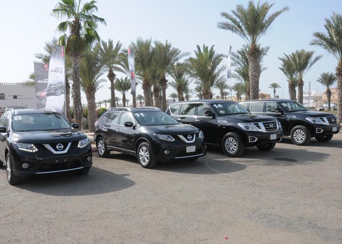 نيسان إكس ترايل 2015 تأسر القلوب والعقول خلال تجربة القيادة في السعودية Nissan X trail