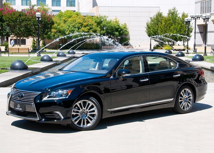لكزس ال اس 2015 تحصل على تحديثات تجميلية من الداخل والخارج Lexus LS