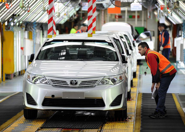 تويوتا اليابانية تسحب أكثر من 360 ألف سيارة في مختلف مناطق العالم