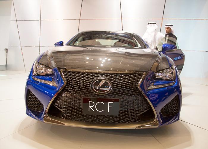 """لكزس ار سي اف 2015 الجديدة كلياً """"تقرير وصور وفيديو ومواصفات واسعار"""" Lexus RC F"""